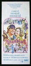 KAZABLAN 1974 Golan Gaon Lavi Elias RARE Daybill Movie Poster