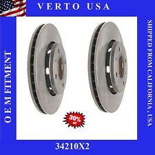 Front Brake Rotors For Volvo S40 , Volvo V40 , 2000 2001 2002 2003 2004