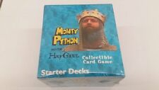 Monty Python and the Holy Grail Starter Deck Display Box SEALED!!!