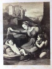 Victorian CDV Carte De Visite Photo: Artwork #169: Raphael Madonna With Veil
