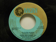 Hank Williams, Jr.: Eleven Roses / Richmond Valley Breeze, 45 RPM, VG (E5)