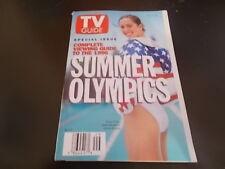 Chuck Norris, Summer Olympics - TV Guide Magazine 1996