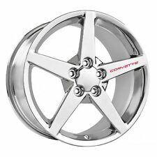 CHEVROLET CORVETTE Wheel Decals Set of 4 ZO6 ZR1 Grand Sport C6 C5 Racing Red