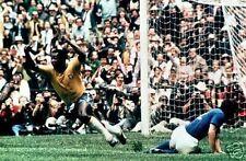 Pele Scores 1970 World Cup Brazil Italy 10x8 Photo
