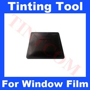 Medium Black Teflon Card Squeegee Car Window Tinting Tool Fitting Tool