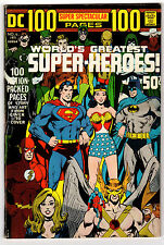 Dc 100 Page Super Spectacular #6 5.0 Off-White To White Pages Bronze Age