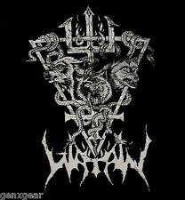 WATAIN cd lgo WOLF & SNAKE Official SHIRT SMALL New black metal militia
