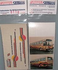 Holliday Stettnisch Beschriftung Bus Reisebus Setra S215HD O303 å *