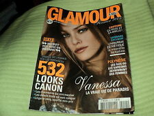 "RARE! REVUE ""GLAMOUR N°11 - FEVRIER 2005"" Vanessa PARADIS, Jennifer LOPER (J.Lo)"