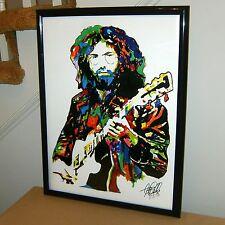 Jerry Garcia, Grateful Dead, Singer, Vocals, Lead Guitar, 18x24 POSTER w/COA 2