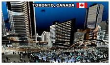 TORONTO, CANADA - SOUVENIR NOVELTY FRIDGE MAGNET - BRAND NEW - GIFT