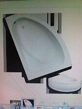 TROJAN ORLANDO OFFSET CORNER BATH SUITE 1495 x 1010 +TOILET+BASIN & TAPS