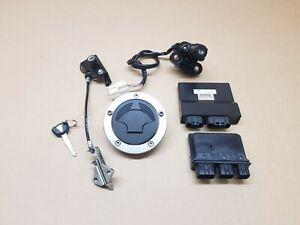 Kawasaki ER6F ER6N EX650 ECU CDI Ignition , Complete lock set ,Fits 2012 - 2016