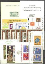 100 Jahre UPU - LOT ** MNH 1974 auf 12 Seiten