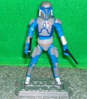 Star Wars Clone Wars Death Watch MANDALORIAN WARRIOR Action Figure - Used