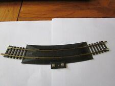 """TYCO Brass 18"""" Radius Terminal Rerailer  track"""