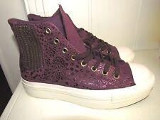 76e9f55148d349 CONVERSE Chuck Taylor All Star Platform Chelsea (Oriental Violet) Women  size 9