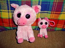 """TY Beanie Boos Corky 6"""" And Keyclip 2011 2012"""