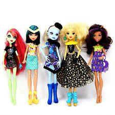 Mattel Monster High Lot of 5 Fashion Dolls 2008 - 2016