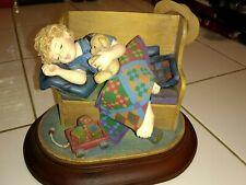 """Amish Heritage Collection 1996 Figurine """"Tuckered Out"""" No Box Limited Edition"""
