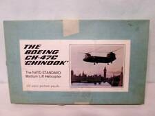 Vintage THE BOEING CH-47C CHINOOK Jigsaw Puzzle Made USA Helicopter 551 pcs