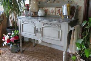 Elegant Antique Marble Top Edwardian Wash Stand, on castors.