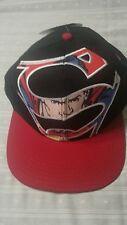 Superman DC Comics Original Snapback Adjustable Baseball Cap Hat new with tags