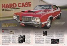 1970 OLDSMOBILE 4-4-2 / 442 W-30 ~ GREAT 5-PAGE MUSCLE CAR ARTICLE / AD