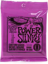 Ernie Ball Power Slinky Electric Guitar Strings 11-48 Gauge