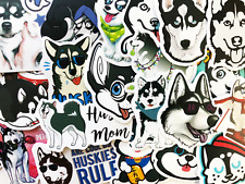 50 Husky Dog Sticker Bomb For Skateboard Laptop Phone Skin Lot Set Decals