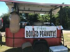 Used Boiled Peanut Trailer For Sale Proven Money Maker Covered 6x12