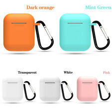 Ear Hooks&Soft Silicone Bluetooth Headphone Protective Case Cover For Airpods US