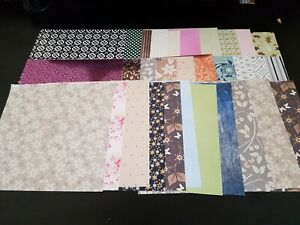 30 sheets of  8x8 Cardstock
