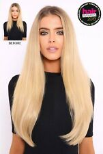 LullaBellz 22 Inch 5 Piece Straight Clip In Synthetic Hair Extensions