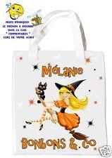 borsa caramelle halloween da strega shopping borsa regalo ref 04