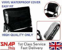 Hairdressing Barber Chair Back Cover Salon Spa Professional Plastic Vinyl Covers