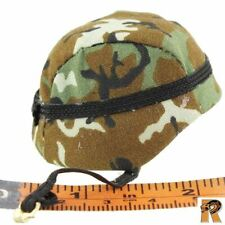 82nd Airborne Female - Helmet w/ Camo Cover - 1/6 Scale - GI JOE Action Figures