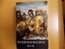 Weltgeschichte , Nachschlagewerk, von A bis Z