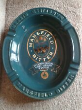 Vintage Mansfield Bitter Ashtray Pub/Bar/Man Cave (Large)