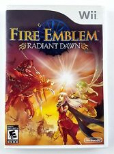 Fire Emblem: Radiant Dawn Nintendo Wii Complete Tested Working