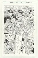 Gen 13 #23 page #15, Original Comic Art by Al Rio, Image Comics, 1997