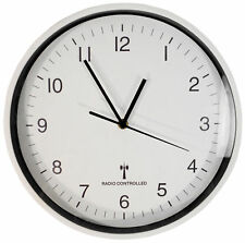 Sutton Home and Garden Wall Mounted 30cm Radio Controlled Clock