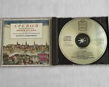BYLSMA-LEONHARDT/C.P.E. BACH Cello concertos W.GERMANY CD VIRGIN (1989)SONOPRESS