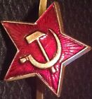 Russian Hammer and Sickle Badge USSR Soviet Communist Ushanka Hat Badge