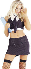 Secretary Sexy Uniform Female Fancy Dress Costume - Large (UK 16-18