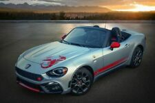 FIAT 124 Spider ABARTH Sticker Decal Side Stripes Scorpion Sting Appearance Grou