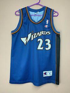 Washington Wizards Michael Jordan #23 Champion NBA Basketball Vintage Jersey