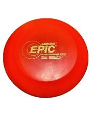 Aerobie Epic Disc Golf Vintage Early 2000's Ultra Long Range Driver Red 167-169