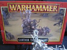 Warhammer Fantasy Battles Beastmen, AOS Brayherds,Gorthor the Beastlord OOP