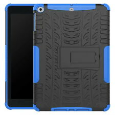 Rubberized Rugged Stand Shockproof Hard Case Cover For iPad 5th 2017 / 6th 2018